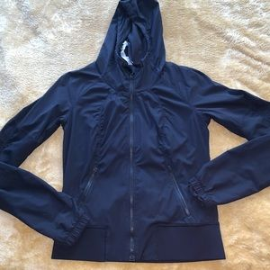 lululemon Black Women Jacket W Hoodie 4 Athelta
